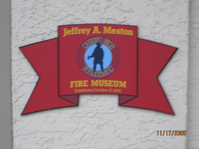 Meston Museum Sign