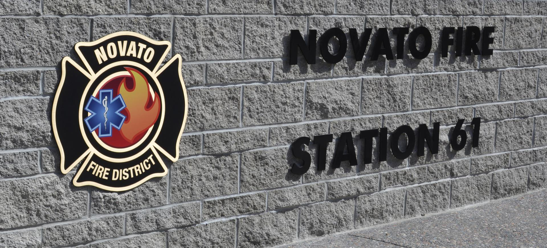 new station 61 sign